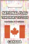 Canada Country Flag Tattoos.
